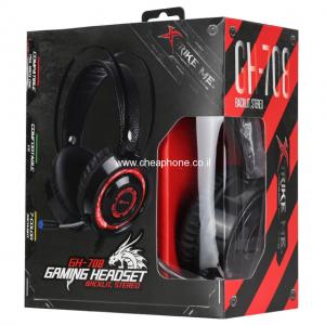 אוזניות גיימינג איכותיות עם אורות Xtrike Me GH-708
