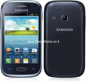 """סמארטפון קטן וכשר בגודל 3.5"""" – Galaxy Young"""