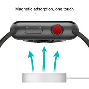 מטען אלחוטי מגנטי לשעון אפל