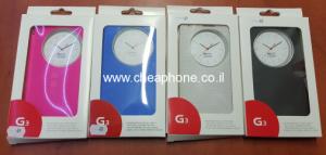 חיסול מלאי מגנים LG G3: קשיח, שקוף,חכם,וספר