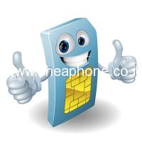 כרטיס סים נטען: סלקום,פלאפון,אורנג'
