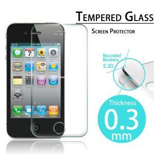 מגן זכוכית מחוסם איכותי אייפון 4