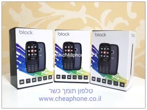 Black טלפון מקשים דור 3 תומך סים כשר