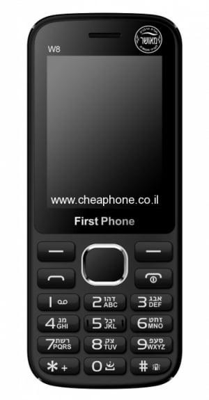 טלפון מאושר וועדת רבנים Frist Phone W8 – משלוח חינם