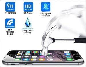 מגן מסך זכוכית אייפון 6S Plus