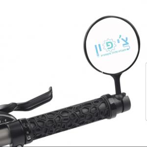 מראה לקורקינט/אופניים 360 מעלות  + מחזיר אור