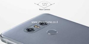 עדשה למצלמה אחורית LG G6