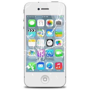 החלפת מסך אייפון 4 או 4S