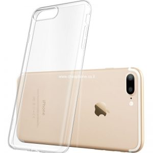 מגן סיליקון שקוף אייפון 7 פלוס