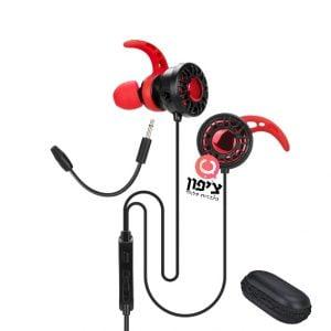 אוזניות גיימינג איכותיות Xtrike Me GE-109