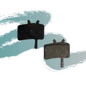זוג רפידות בלם למעצור דיסק לאופני גרין בייק