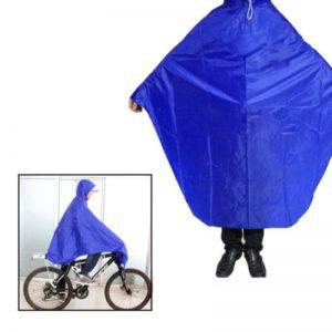 מעיל נגד גשם לאופניים + כובע קפוצון